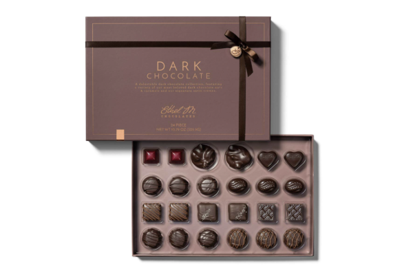 Ethel M Dark Chocolates Gift for Woman for Valentines Day