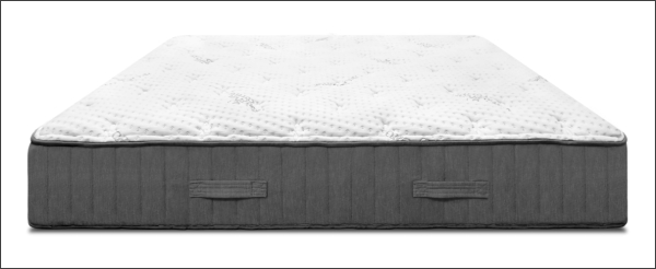 Image of the Sweet Zzz Natures Novel Latex Mattress on a White Background